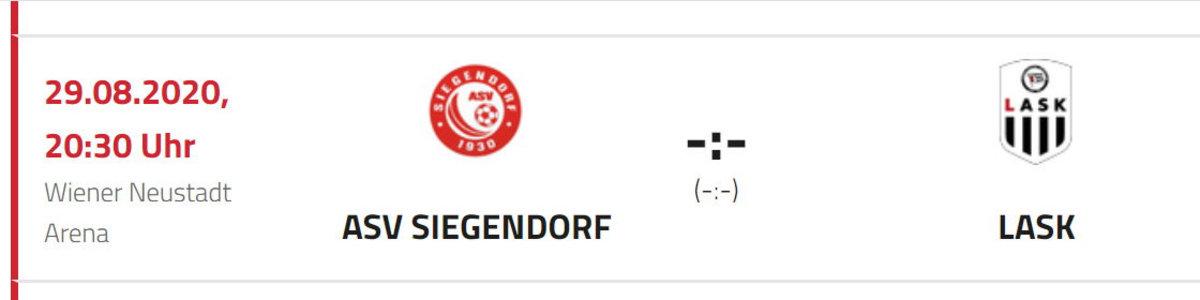 """ÖFB genehmigt Cup-""""Heimspiel"""" gegen den LASK"""