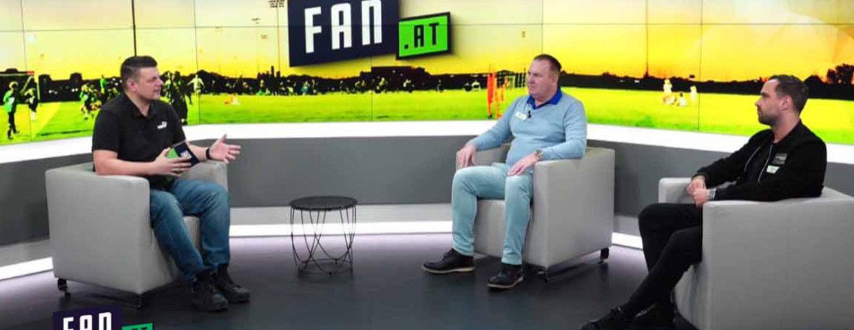 Präsident Krenmayr und Kapitän Dober bei Krone TV