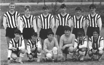 Bild 14 Schülermannschaft 1967
