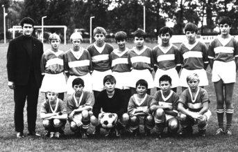 Bild 31 Schülermannschaft 1970